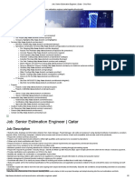 Job_ Senior Estimation Engineer _ Qatar - DicoTech