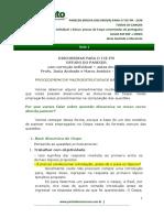 DISCURSIVAS PARA O TCE-PR - ESTUDO DO PARECER