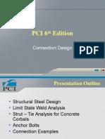 PCI 6th Edition - Connection Design