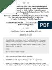 Richard Leonard, Individually Regina Dent, Individually and as Co-Personal Representatives of the Estate of Regina A. Leonard v. Nationwide Mutual Insurance Company, 46 F.3d 1125, 4th Cir. (1995)