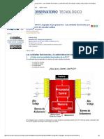 MONOGRAFICO_ Lenguajes de Programación - Las Unidades Funcionales y La Administración de Entradas-salidas _ Observatorio Tecnológico II