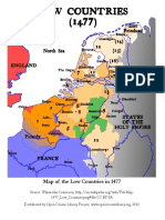 HUM&101 Module06 Map of the Low Countries Handout