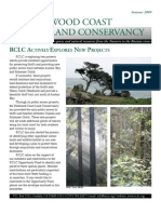 Summer 2009 Redwood Coast Land Conservancy Newsletter