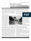 Spring-Summer 2005 Redwood Coast Land Conservancy Newsletter