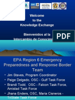 Presenter-EPA-Border 2012 Joint Readiness for Environmental Response