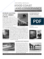 Fall-Winter 2002 Redwood Coast Land Conservancy Newsletter