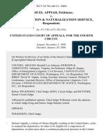 Samuel Appiah v. U.S. Immigration & Naturalization Service, 202 F.3d 704, 4th Cir. (2000)