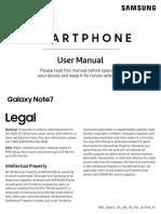 Samsung Galaxy Note7 User Guide