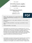 United States v. William N. Anderson, 481 F.2d 685, 4th Cir. (1973)
