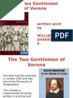 Ingles the Two Gentelman of Verona