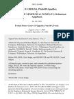 Joseph D. Griggs v. E.I. Dupont De Nemours & Company, 385 F.3d 440, 4th Cir. (2004)