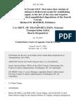 Richard M. Booher v. U.S. Dept. Of Transportation, National Transportation Safety Board, 28 F.3d 1208, 4th Cir. (1994)