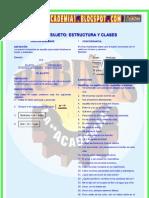 EL SUJETO  ESTRUCTURA Y CLASES