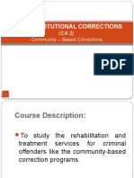 Copy of Non – Institutional Corrections (CA 2)