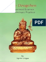 244747025 Jig Me Lingpa the Dzogchen Innermost Essence Preliminary Practice PDF