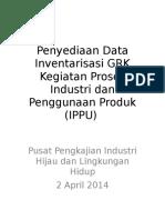 Data Inventarisasi Industri - Kemenperin - 2 April 2014
