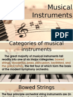 Lesson 6 - Musical Intruments