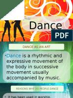 Lesson 7 - Intro to Dance