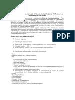 Termo de Referência Para Elaboração de Plano de Controle Ambiental - Parcelamento de Solo Urbano