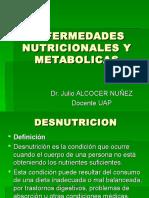 ENFERMEDADES NUTRICIONALES Y METABOLICAS.pps