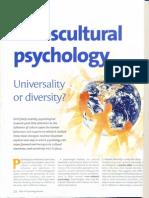 Trans Cultural Psychology