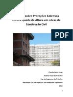 Manual Proteções Coletivas Contra Queda Altura Construção Civil v4