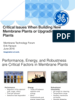 ErikHanson Critical Issues in Membrane Plant Design - MTF - June 2016 Final