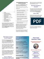 Peace Corps EEO Process Volunteers' Guide