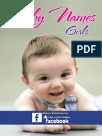 Baby Names Girls