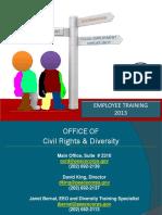 Peace Corps Employee Training 2013