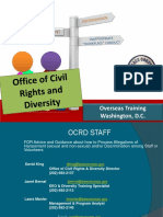 Peace Corps OCRD OST Training