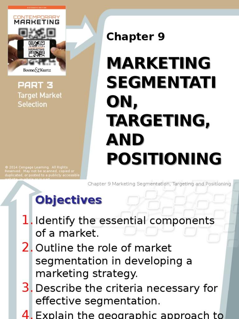 Boone kurtz expanded market segmentation marketing fandeluxe Choice Image