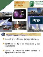 Tema 1 Introducción a La Ciencia e Ingenieria de Materiales