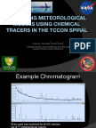 Validating meteorological models using chemical tracers in the TCCON spiral