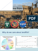 Emissions from the Bena Landfill