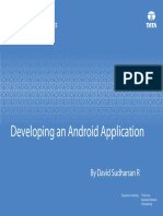 Developing an Android Application
