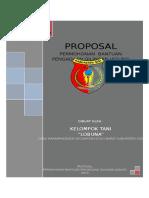 Proposal Gilingan Jagung