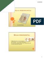 Expocision de Bolsa Periodontal