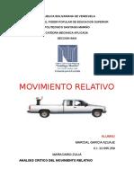 movimiento relativo