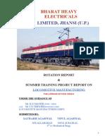 bhel jhansi Report