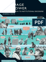 (Advances in sociolinguistics) Andrea Mayr-Language and power _ an introduction to institutional discourse-Continuum (2008).pdf