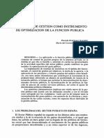 el control de la gestion como instrumento de la funcion publica