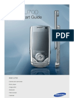 SGH-U700 Eng User's Manual