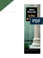 Alfonso Gomez-Lobo, La Ética de Sócrates