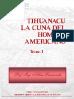 Tiwanaku Cuna Del Hombre Americano - Tomo I (Arthur Posnansky)
