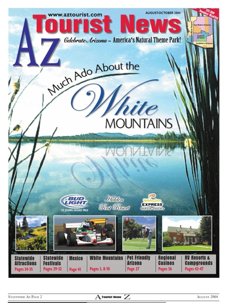 Az Tourist News -August 2004   Phoenix   Arizona
