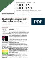 El Arte Contemporáneo_ Entre El Mercado y La Estética - Grupo Milenio