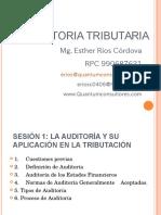 Auditoría Tributaria_ Sesión 01 y 02_ Uladech Lima