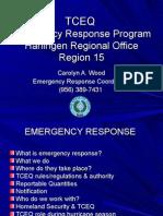 Presenter TCEQ Emergency Response Capabilities