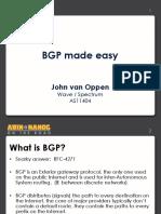 10BGP Presentation